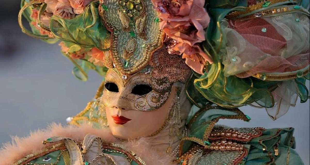 Carnevale di Venezia-Maschera da donna