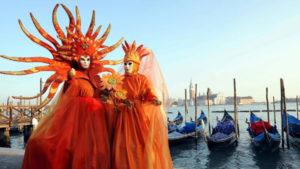 Carnevale di Venezia-Maschere in piazza