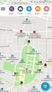 Oktoberfest-L'app di Monaco